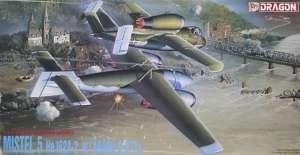 Mistel 5 - He162A-2 w/Arado E-377A in scale 1-72