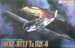 Dragon 5007 Focke Wulf Ta 152C-0