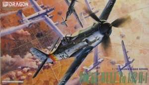 Focke-Wulf Ta152H-1 in scale 1-72
