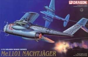 Me1101 Nachtjager in scale 1-72 Dragon 5014