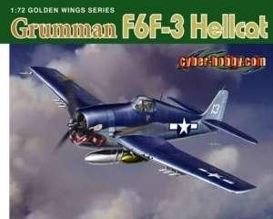 Grumman F6F-3 Hellcat in scale 1-72 Dragon
