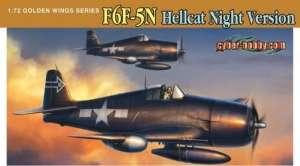 F6F-5N Hellcat, Night Version - model Dragon in scale 1-72
