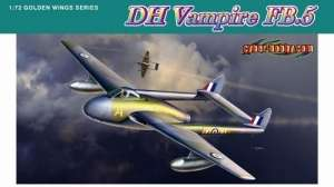 DH Vampire FB.5 in scale 1-72, Dragon 5085