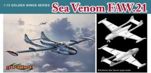 Sea Venom FAW.21 - model Dragon in scale 1-72