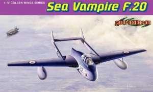 Sea Vampire F.20 in scale 1-72