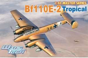 Bf 110E-2 Tropical in scale 1-48