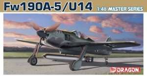 Fw190A-5/U-14 model in scale 1-48