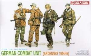 German Combat Unit Ardennes 1944-45 in scale 1-35