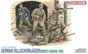 German Fallschirmjager Monte Casino 1944 in scale 1-35