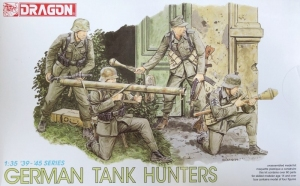 German Tank Hunters model Dragon 6034 in 1-35
