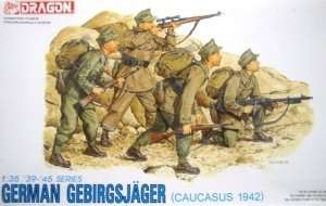 Figure German Gebirgsjager - Caucasus 1942 in scale 1-35 Dragon 6045