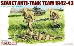 Soviet Anti-Tank Team 1942-43 figure in scale 1-35