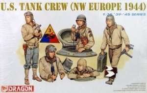 U.S. Tank Crew - NW Europe 1944 in scale 1-35 Dragon 6054