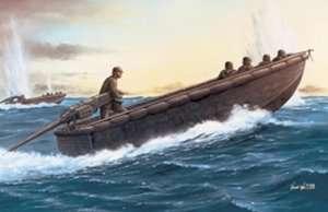 German Sturmboat w/Pioneers in scale 1-35
