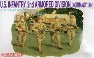 US Infantry 2nd Armored Division in scale 1-35