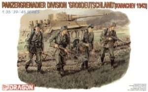 Figure Panzergrenadier Division Grossdeutschland in scale 1-35