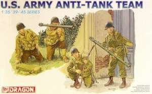 US Army Anti-Tank Team - Dragon in scale 1-35