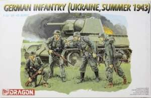 German Infantry, Ukraine Summer 1943 Dragon 6153 in 1-35