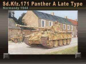 Sd.Kfz.171 Panther A Late Type in scale 1-35 Dragon 6168