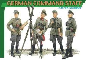 German Command Staff - figure in scale 1-35