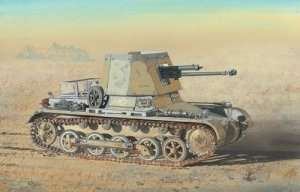 Panzerjager I 4.7cm PaK(t) in scale 1-35