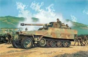 Sd.Kfz.251/22 Ausf.D w/7.5cm PaK 40 in scale 1-35 Dragon 6248