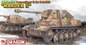 Sd.Kfz.131 Panzerjager II fur Pak 40/2 Marder II in scale 1-35 Dragon 6262