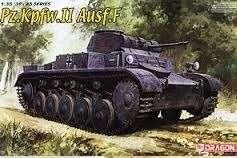 Pz.Kpfw.II Ausf.F model Dragon 6263 in 1-35