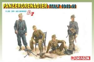 Panzergrenadier Italy 1943-45 in scale 1-35