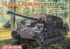 10.5cm K.Pz.Sfl.IVa Dicker Max in scale 1-35