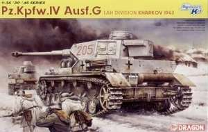 Pz.Kpfw.IV Ausf.G LAH Division - model in scale 1-35