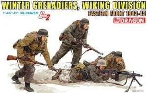 Winter Grenadiers, Wiking Division in scale 1-35