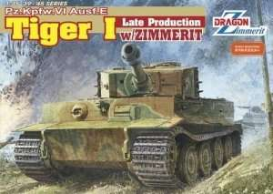 Pz.Kpfw.VI Ausf.E Tiger I Late Production w/Zimmerit in scale 1-35