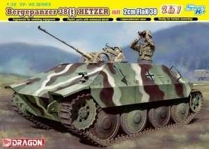 Bergepanzer 38(t) Hetzer mit 2cm FlaK 38 in scale 1-35