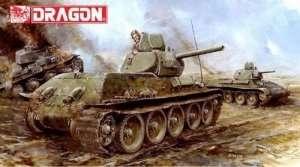 Dragon 6418 Czołg T-34/76 Mod. 1941 Cast Turret