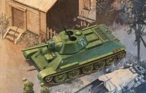 T-34/76 Mod. 1942 Hexagonal Turret Soft Edge Type model Dragon 6424