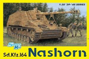 Sd.Kfz. 164 Nashorn model Dragon 6459 4in1 in 1-35