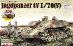 Jagdpanzer IV L/70(V) model Dragon 6498 in 1-35