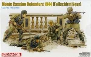 Monte Cassino Defenders 1944 figures in scale 1-35
