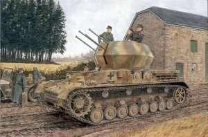 Sd.Kfz.161/4 2cm Flakpanzer IV Wirbelwind in scale 1-35 Dragon 6540