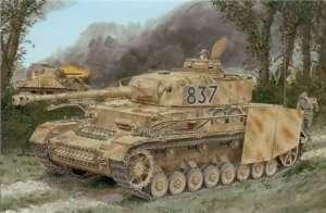 German tank Pz.Kpfw.IV Ausf.H w/Zimmerit in scale 1-35
