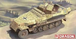 Sd.Kfz.251/17 Ausf.C model Dragon 6592 in 1-35