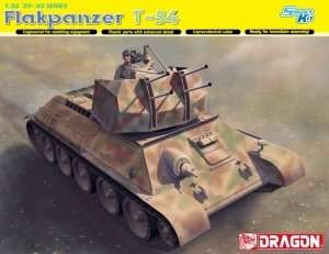 Flakpanzer T-34 in scale 1-35 Dragon 6599