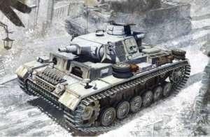 Dragon 6606 Pz.Kpfw.III Ausf.N w/Winterketten