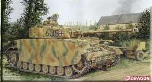 Pz.Kpfw.IV Ausf.H (Mid Production) w/Zimmerit in scale 1-35