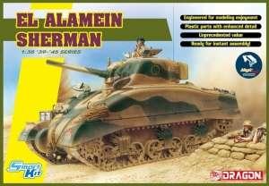 El Alamein tank Sherman model Dragon 6617 in 1-35