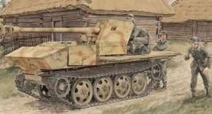 7.5cm Pak 40/4 auf RSO in scale 1-35 Dragon 6640