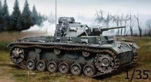 Sd.Kfz 141 tank Pz.Kpfw.III (5cm) Ausf.H in scale 1-35