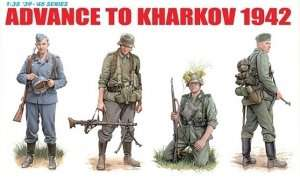Advance To Kharkov 1942 in scale 1-35