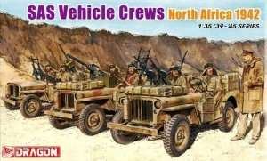 SAS Vehicle Crews (North Africa 1942) in scale 1-35 Dragon 6682